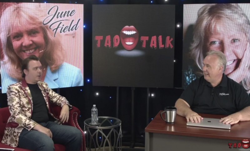 "TAD Talk Interview with ""Worlds Greatest Psychic"" June Field"